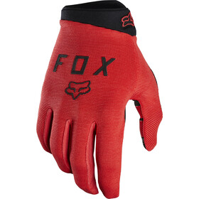 Fox Ranger Guantes Jóvenes, bright red